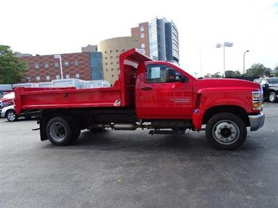 2019 Silverado 5500 Regular Cab DRW 4x2, Monroe MTE-Zee Dump Body #B26817 - photo 3