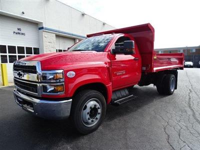 2019 Silverado 5500 Regular Cab DRW 4x2, Monroe MTE-Zee Dump Body #B26817 - photo 5