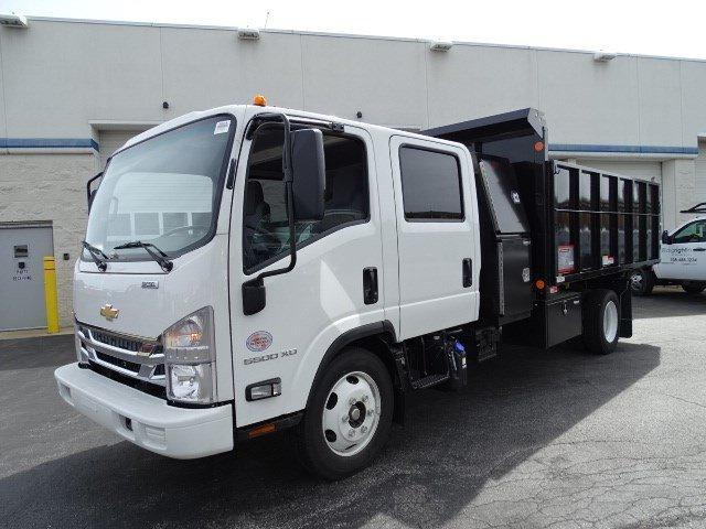 2020 LCF 5500XD Crew Cab 4x2,  Reading Landscaper SL Landscape Dump #B26819 - photo 5