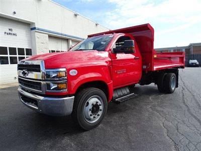 2019 Silverado 5500 Regular Cab DRW 4x2, Monroe MTE-Zee Dump Body #B26854 - photo 5