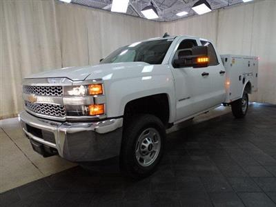 2019 Silverado 2500 Double Cab 4x2,  BrandFX EverLast Service Body #B26895 - photo 5