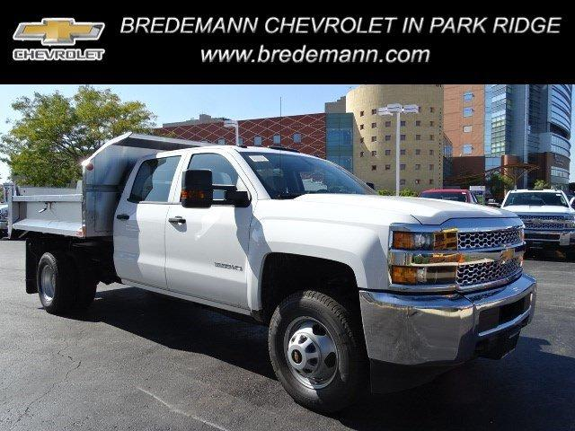 2019 Silverado 3500 Crew Cab DRW 4x2, Monroe Dump Body #B26911 - photo 1