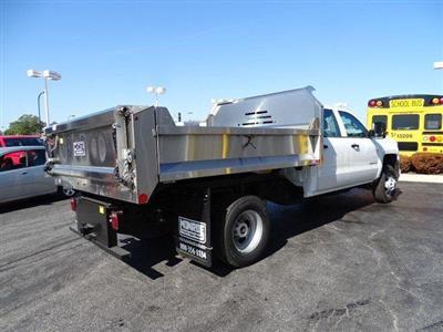 2019 Silverado 3500 Crew Cab DRW 4x2, Monroe MTE-Zee SST Series Dump Body #B26911 - photo 2