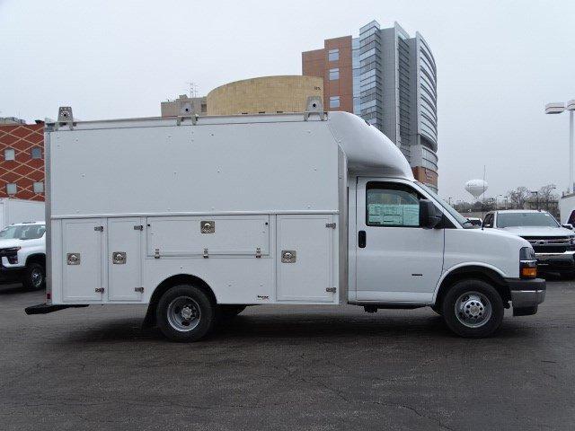 2020 Chevrolet Express 3500 RWD, Supreme Spartan Cargo Service Utility Van #B27221 - photo 3