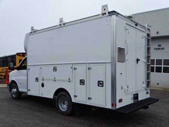 2020 Chevrolet Express 3500 RWD, Supreme Spartan Cargo Service Utility Van #B27221 - photo 4