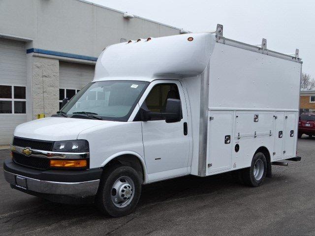 2020 Chevrolet Express 3500 RWD, Supreme Spartan Cargo Service Utility Van #B27221 - photo 5