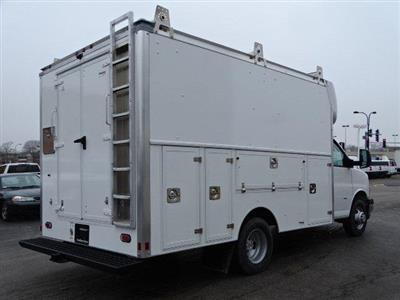 2020 Chevrolet Express 3500 RWD, Supreme Spartan Cargo Service Utility Van #B27221 - photo 2