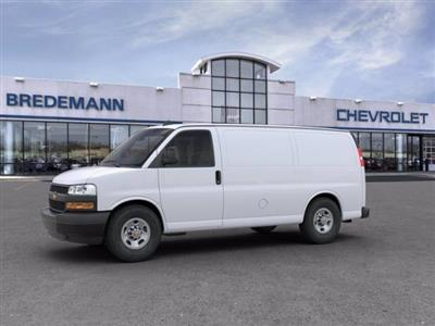 2020 Chevrolet Express 2500 RWD, Empty Cargo Van #B27535 - photo 2