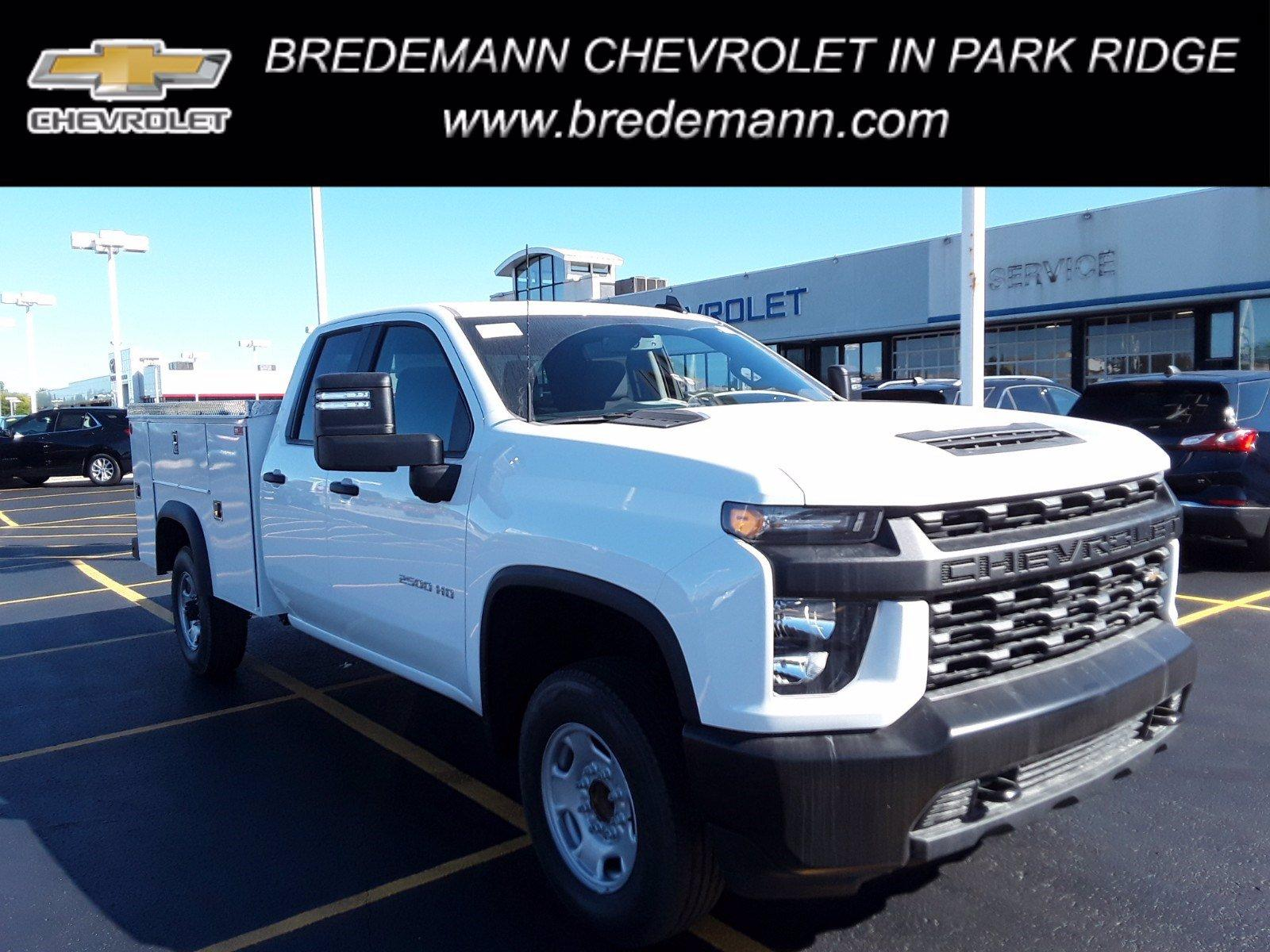 2020 Chevrolet Silverado 2500 Double Cab 4x2, Monroe Service Body #B27557 - photo 1