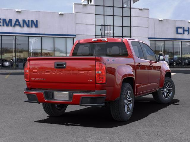 2021 Chevrolet Colorado Crew Cab 4x4, Pickup #B27623 - photo 2