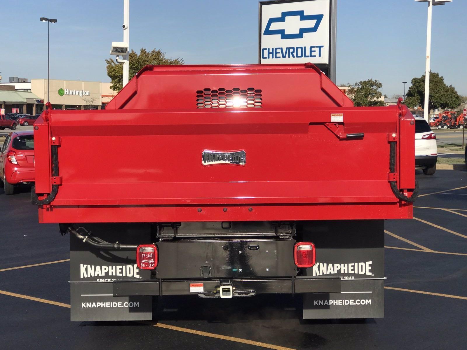 2020 Chevrolet Silverado 3500 Crew Cab DRW 4x2, Knapheide Drop Side Dump Body #B27694 - photo 20