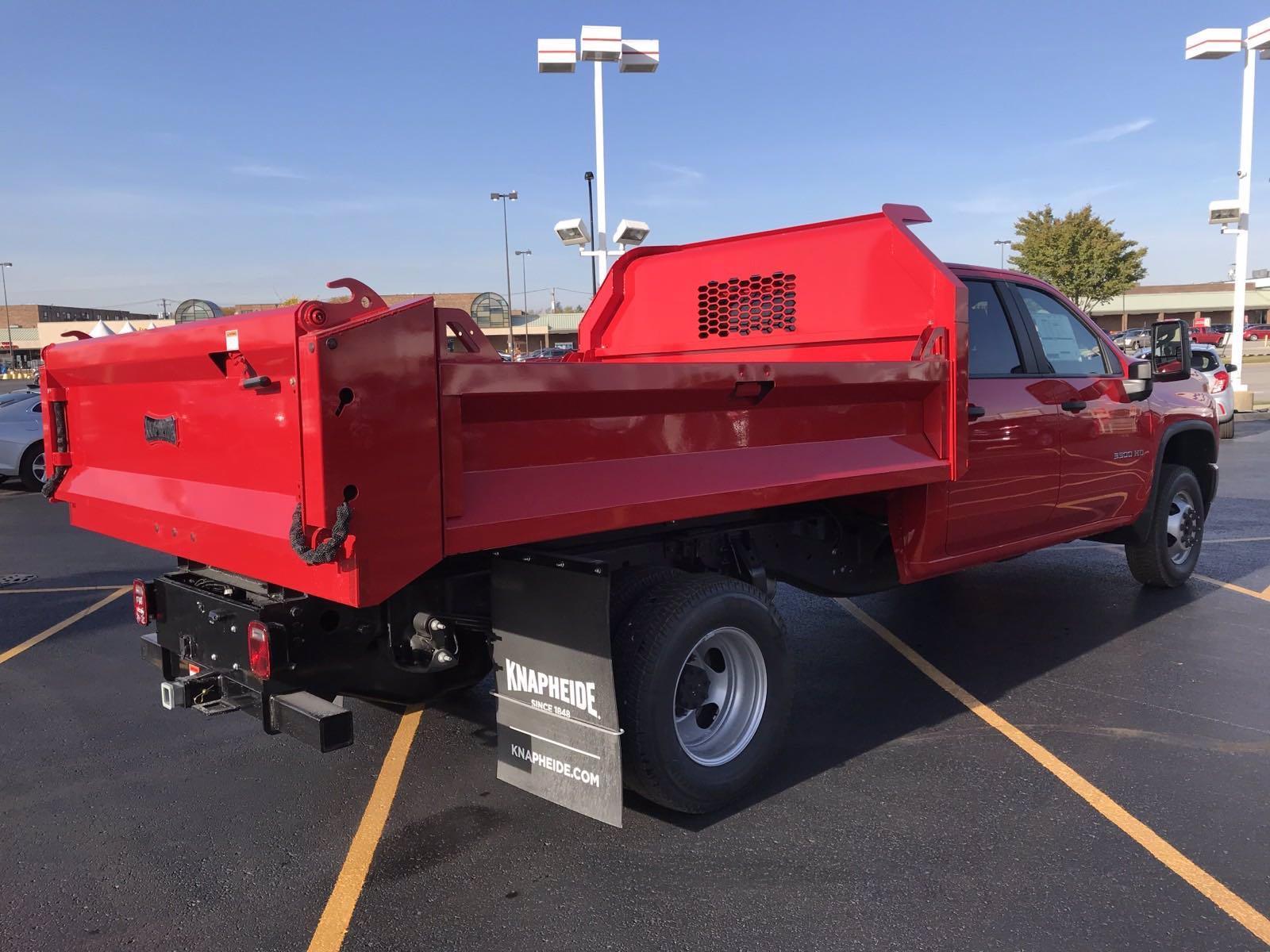 2020 Chevrolet Silverado 3500 Crew Cab DRW 4x2, Knapheide Dump Body #B27694 - photo 1