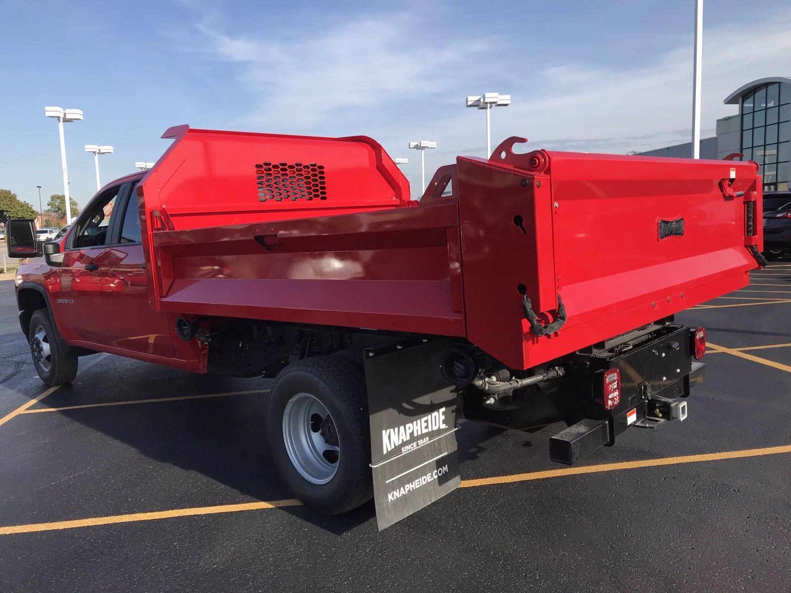 2020 Chevrolet Silverado 3500 Crew Cab DRW 4x2, Knapheide Drop Side Dump Body #B27694 - photo 4