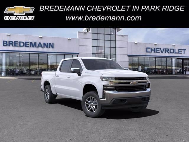 2021 Chevrolet Silverado 1500 Crew Cab 4x4, Pickup #B27706 - photo 1