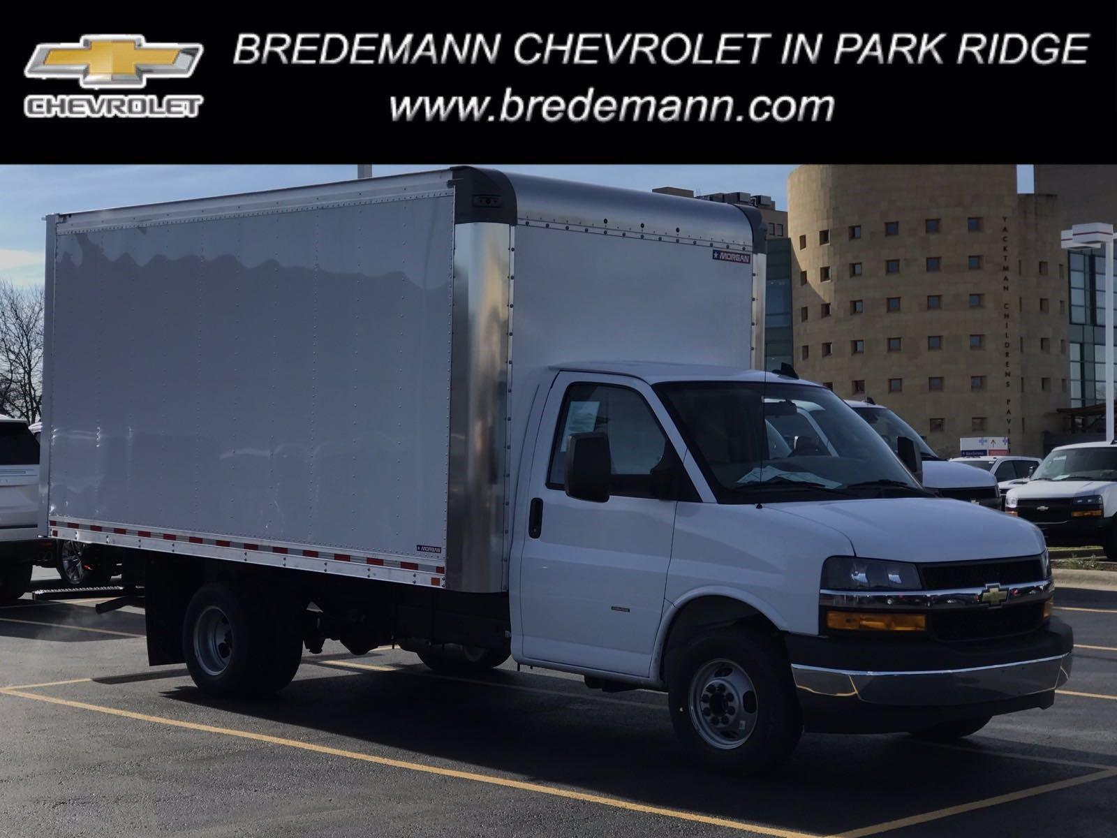 2020 Chevrolet Express 3500 4x2, Morgan Parcel Aluminum Cutaway Van #B27758 - photo 1