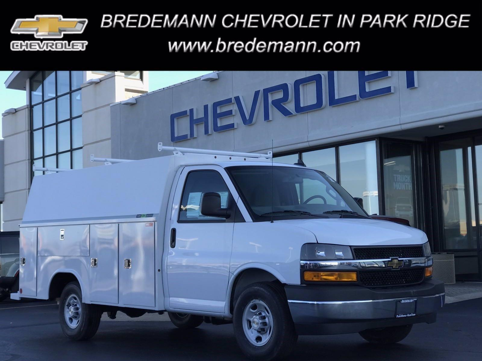 2020 Chevrolet Express 3500 4x2, Reading Service Utility Van #B27806 - photo 1