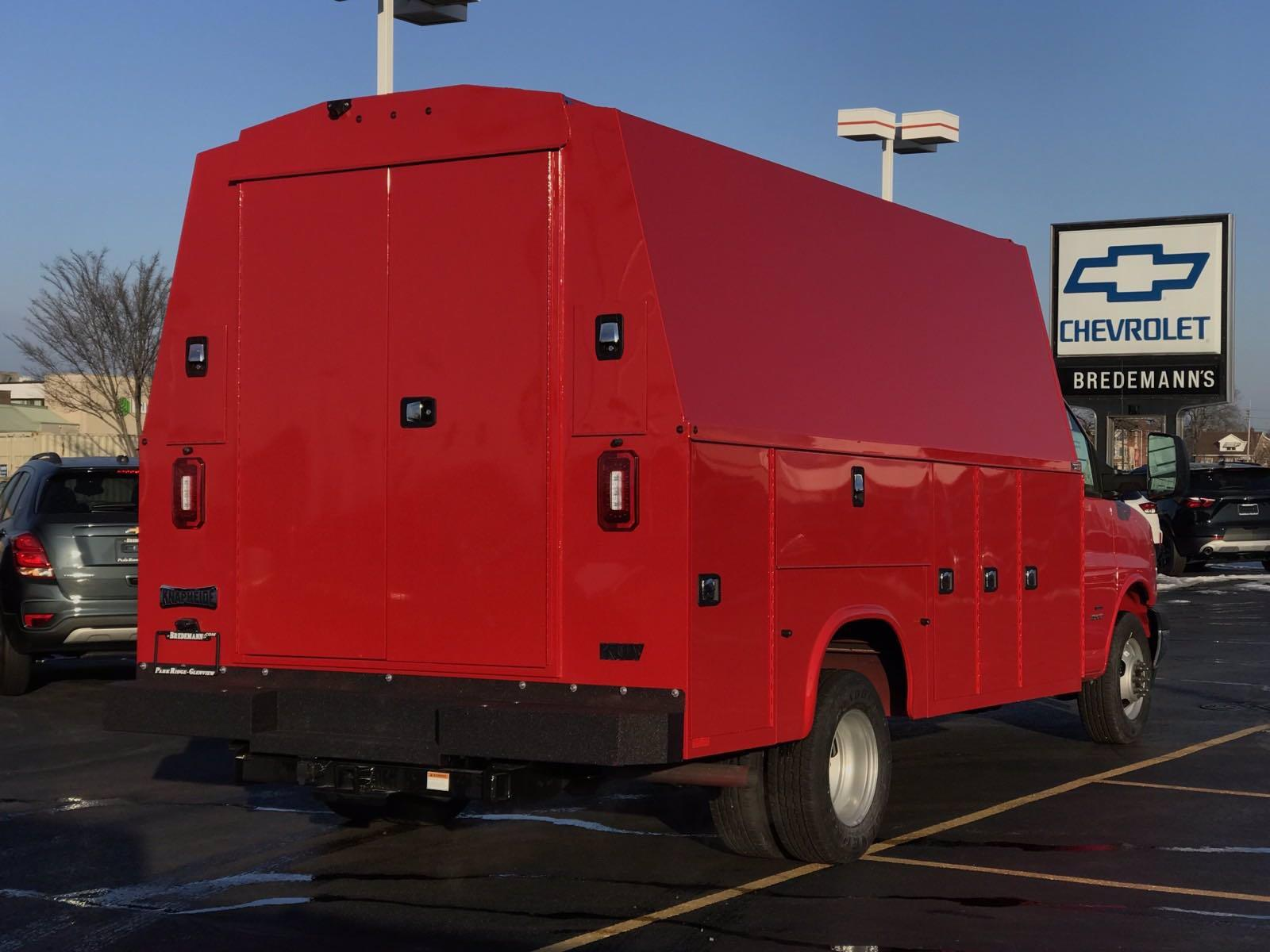 2021 Chevrolet Express 4500 DRW 4x2, Knapheide KUV Service Utility Van #B27854 - photo 2