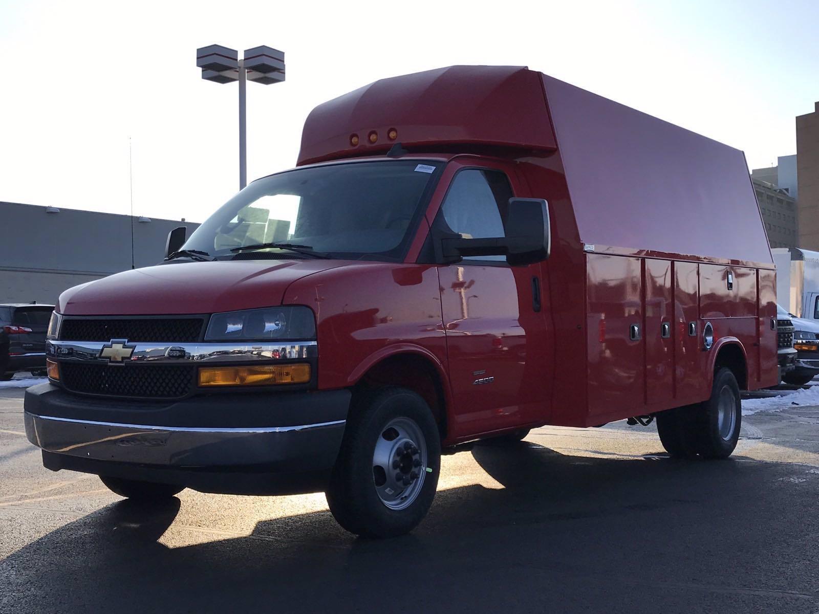 2021 Chevrolet Express 4500 DRW 4x2, Knapheide KUV Service Utility Van #B27854 - photo 5