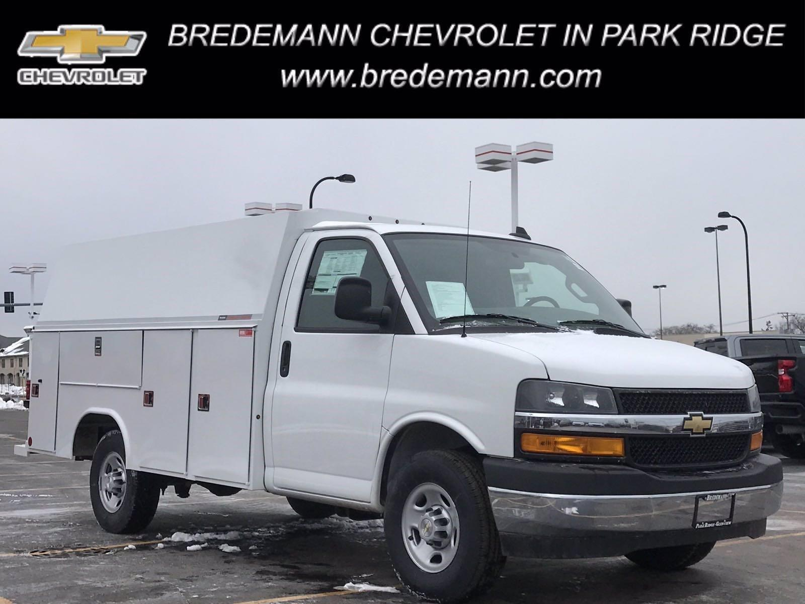 2020 Chevrolet Express 3500 4x2, Reading Service Utility Van #B27873 - photo 1