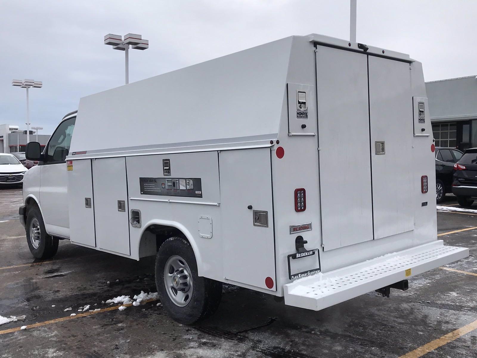 2020 Chevrolet Express 3500 4x2, Reading Aluminum CSV Service Utility Van #B27873 - photo 6