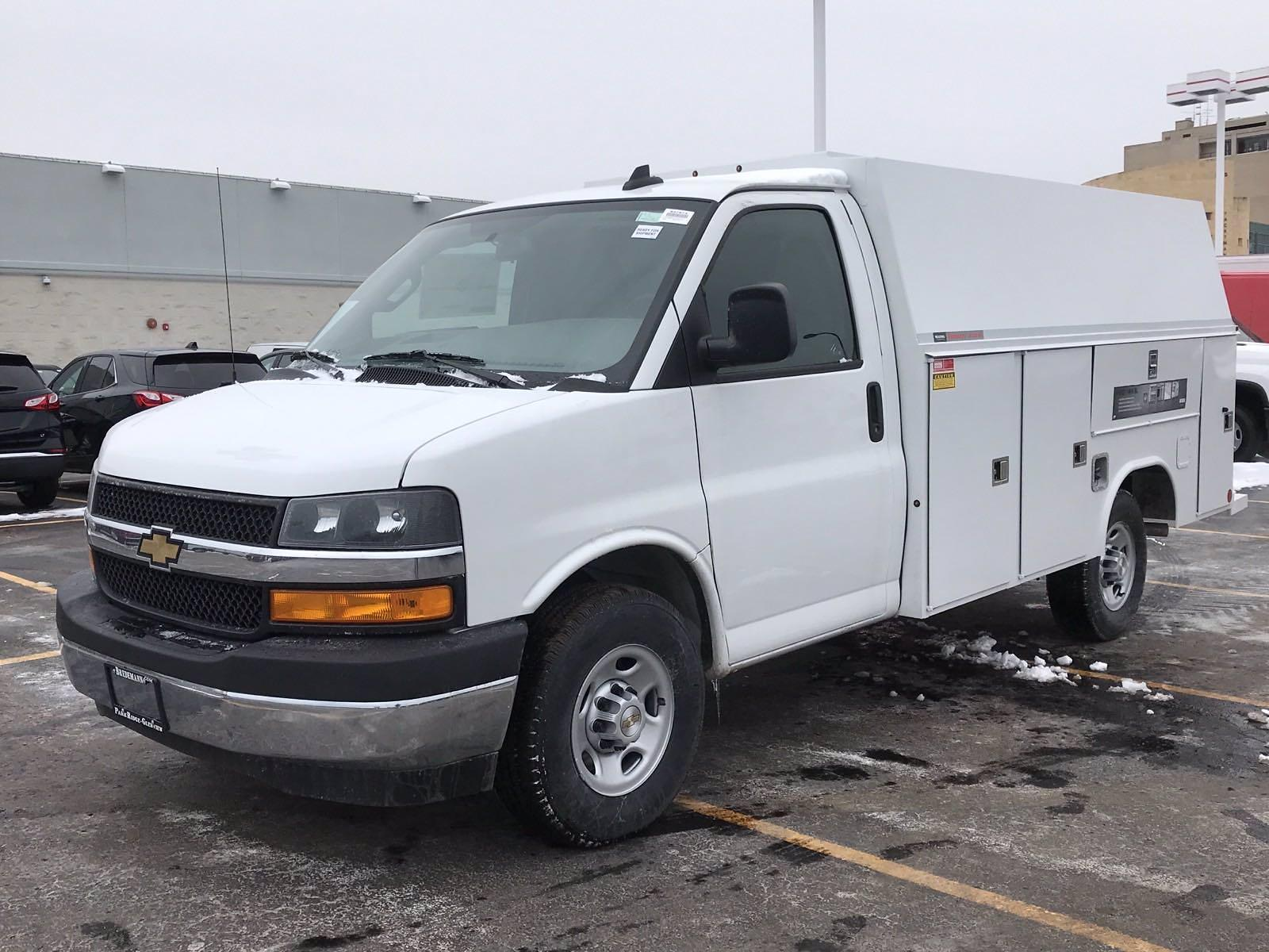 2020 Chevrolet Express 3500 4x2, Reading Aluminum CSV Service Utility Van #B27873 - photo 8