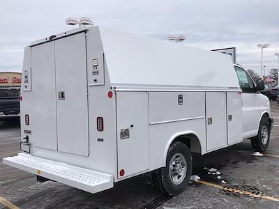 2020 Chevrolet Express 3500 4x2, Reading Aluminum CSV Service Utility Van #B27873 - photo 2
