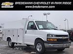 2020 Chevrolet Express 3500 4x2, Reading Aluminum CSV Service Utility Van #B27873 - photo 1