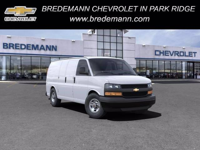 2021 Chevrolet Express 3500 4x2, Empty Cargo Van #B27878 - photo 1