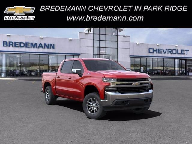 2021 Chevrolet Silverado 1500 Crew Cab 4x4, Pickup #B27882 - photo 1