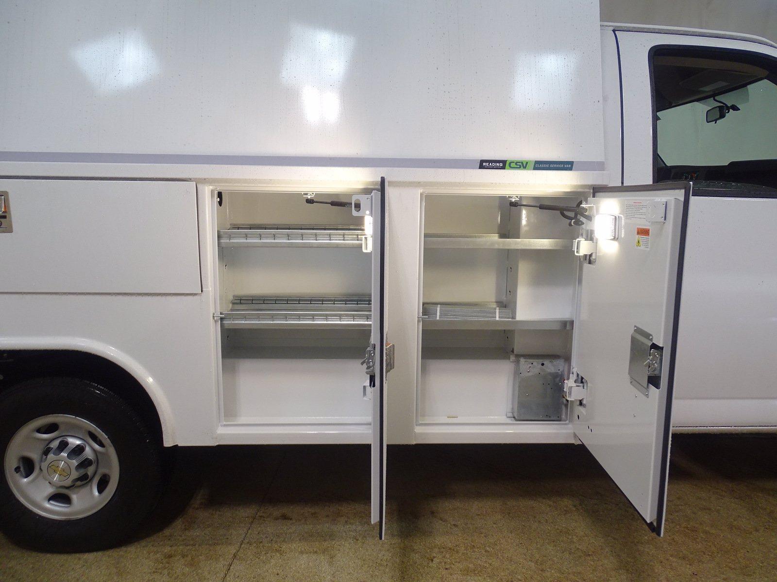 2020 Chevrolet Express 3500 4x2, Reading Aluminum CSV Service Utility Van #B27893 - photo 10