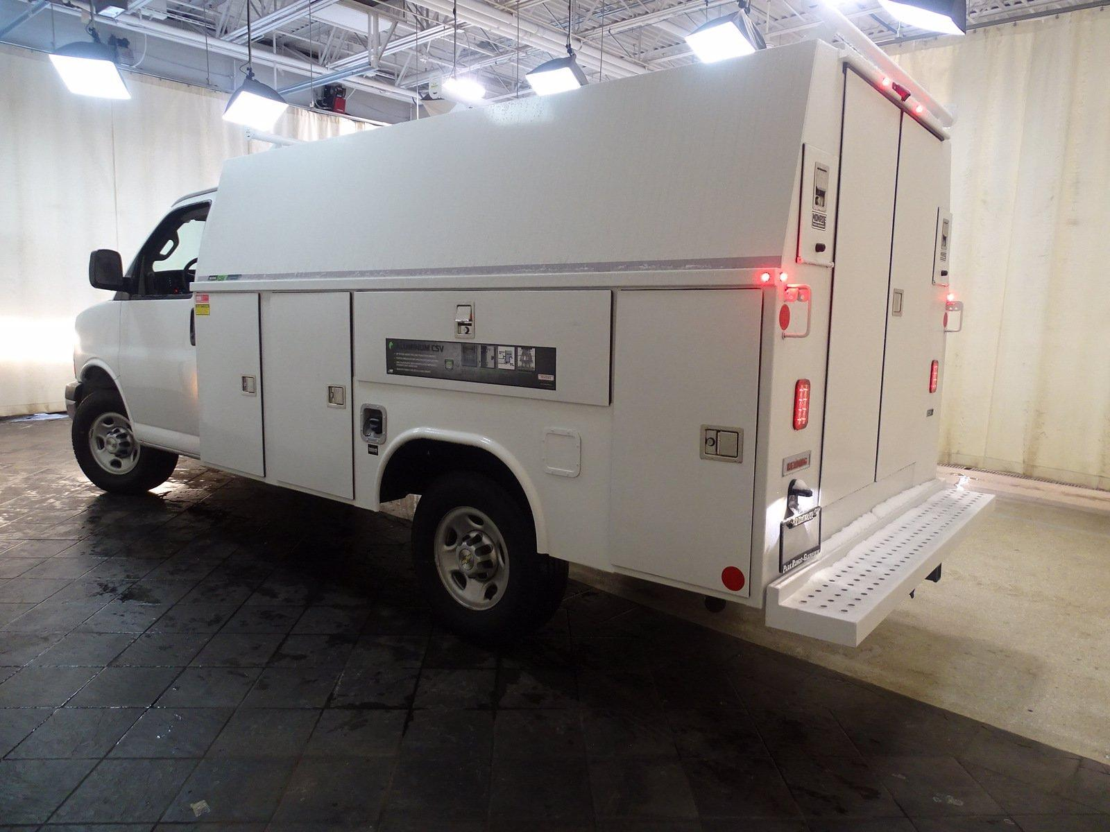 2020 Chevrolet Express 3500 4x2, Reading Aluminum CSV Service Utility Van #B27893 - photo 3