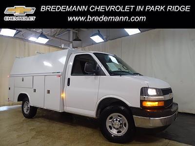 2020 Chevrolet Express 3500 4x2, Reading Aluminum CSV Service Utility Van #B27893 - photo 1