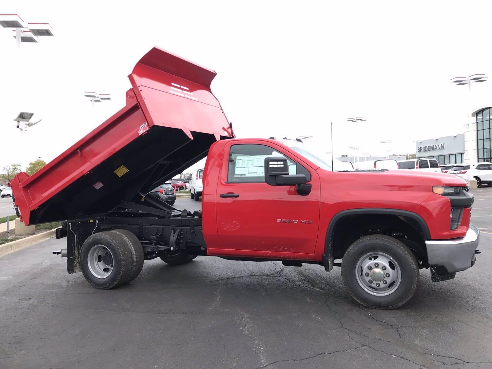 2021 Chevrolet Silverado 3500 Regular Cab AWD, Monroe MTE-Zee Dump Body #B27978 - photo 3
