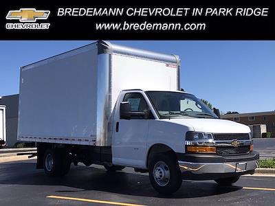 2021 Chevrolet Express 3500 4x2, Cutaway Van #B28009 - photo 1