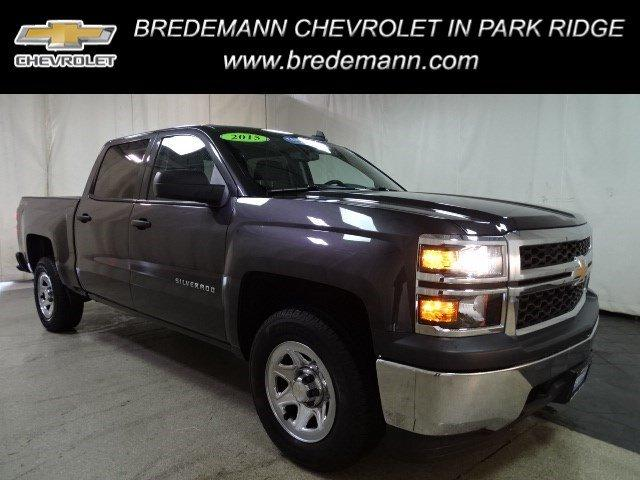 2015 Silverado 1500 Crew Cab 4x4, Pickup #BP7386 - photo 1