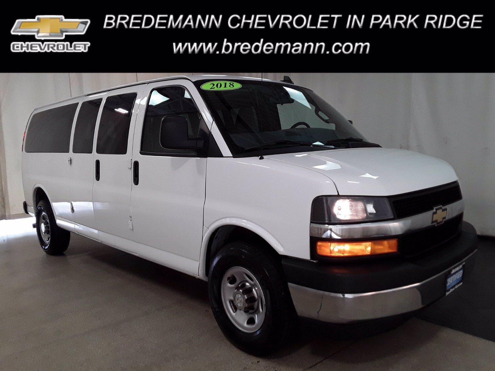 2018 Chevrolet Express 3500 RWD, Passenger Wagon #BP7499 - photo 1