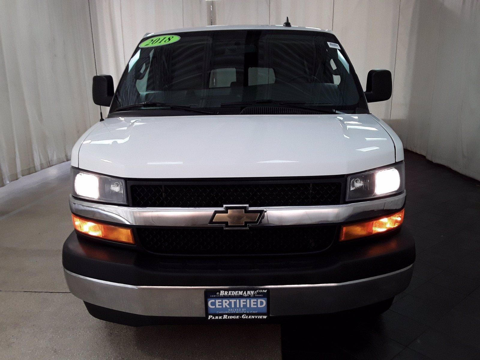 2018 Chevrolet Express 3500 RWD, Passenger Wagon #BP7499 - photo 21