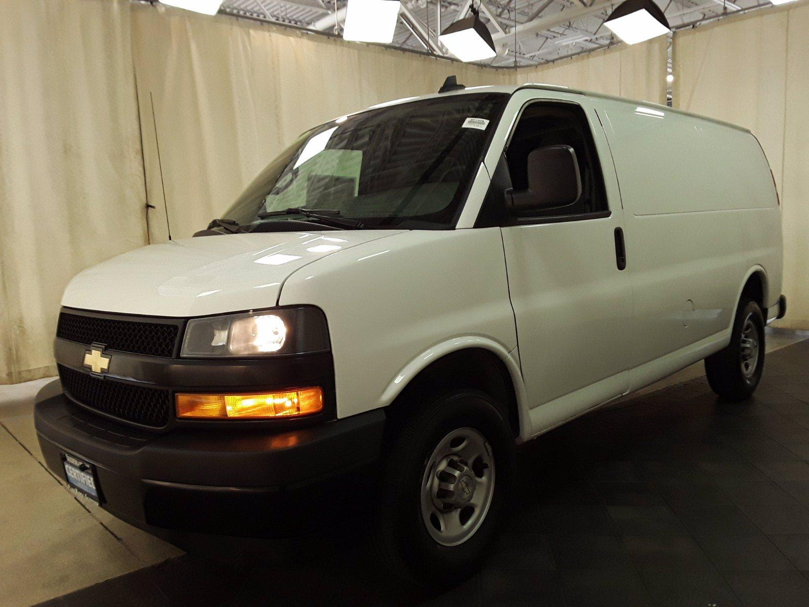 2020 Chevrolet Express 2500 RWD, Empty Cargo Van #BP7508 - photo 6