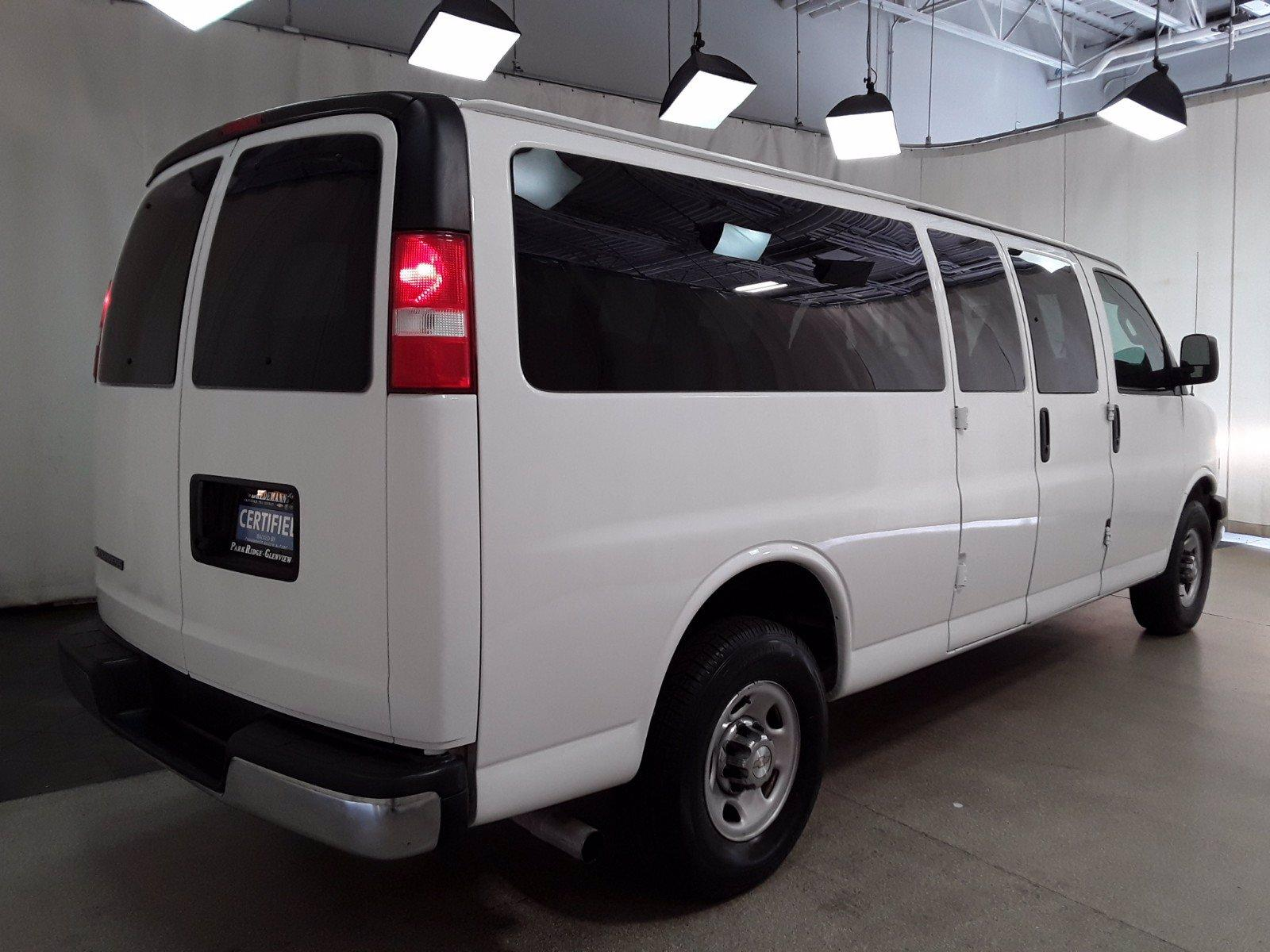 2018 Chevrolet Express 3500 RWD, Passenger Wagon #BP7522 - photo 2