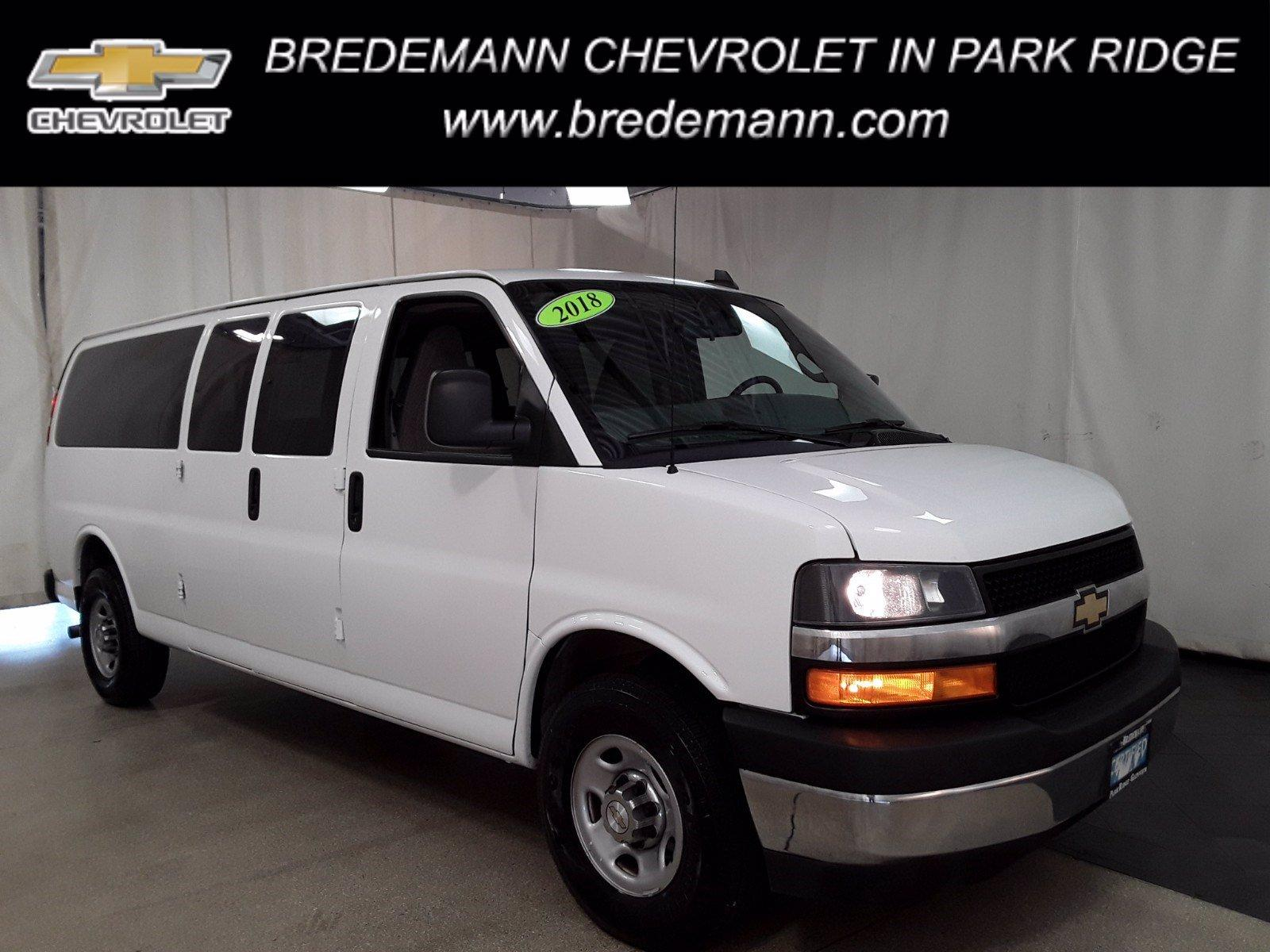 2018 Chevrolet Express 3500 RWD, Passenger Wagon #BP7523 - photo 1