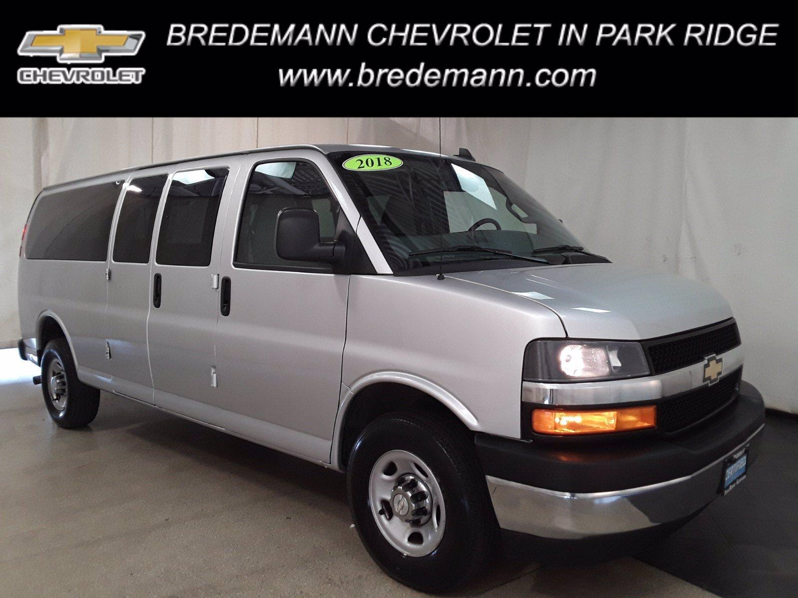 2018 Chevrolet Express 3500 RWD, Passenger Wagon #BP7528 - photo 1