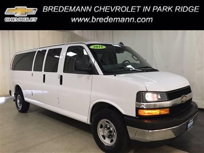 2019 Chevrolet Express 3500 RWD, Passenger Wagon #BP7585 - photo 1