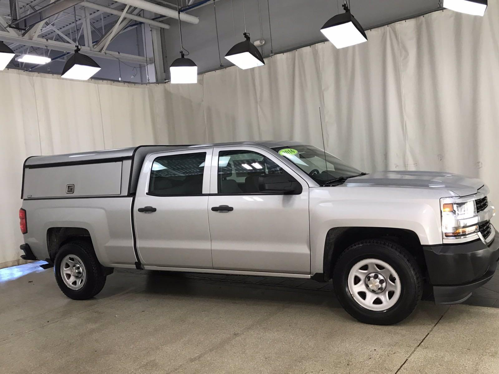 2016 Chevrolet Silverado 1500 Crew Cab 4x2, Pickup #BP7605 - photo 3