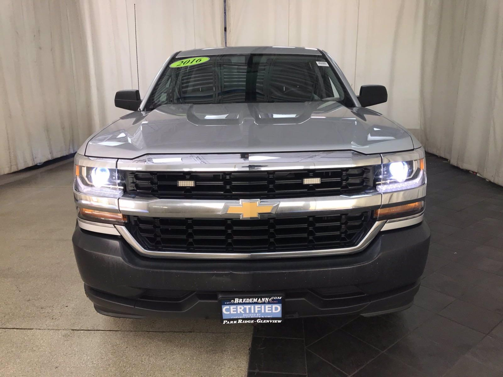 2016 Chevrolet Silverado 1500 Crew Cab 4x2, Pickup #BP7606 - photo 24