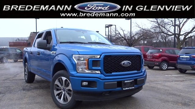 2019 F-150 SuperCrew Cab 4x4, Pickup #F39276 - photo 1