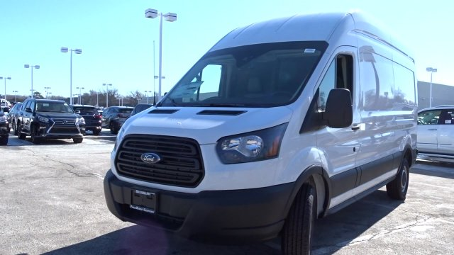 2019 Transit 350 High Roof 4x2,  Empty Cargo Van #F39391 - photo 4