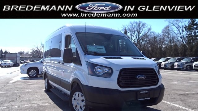 2019 Transit 350 Med Roof 4x2,  Passenger Wagon #F39419 - photo 1