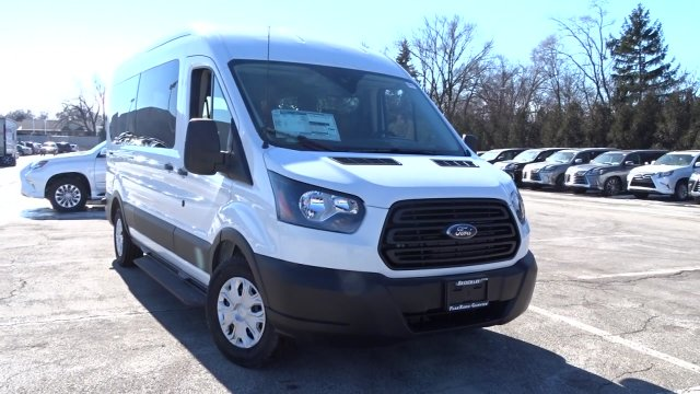 2019 Transit 350 Med Roof 4x2,  Passenger Wagon #F39419 - photo 22