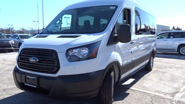 2019 Transit 350 Med Roof 4x2,  Passenger Wagon #F39419 - photo 4