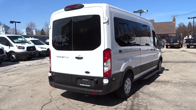 2019 Transit 350 Med Roof 4x2,  Passenger Wagon #F39517 - photo 2